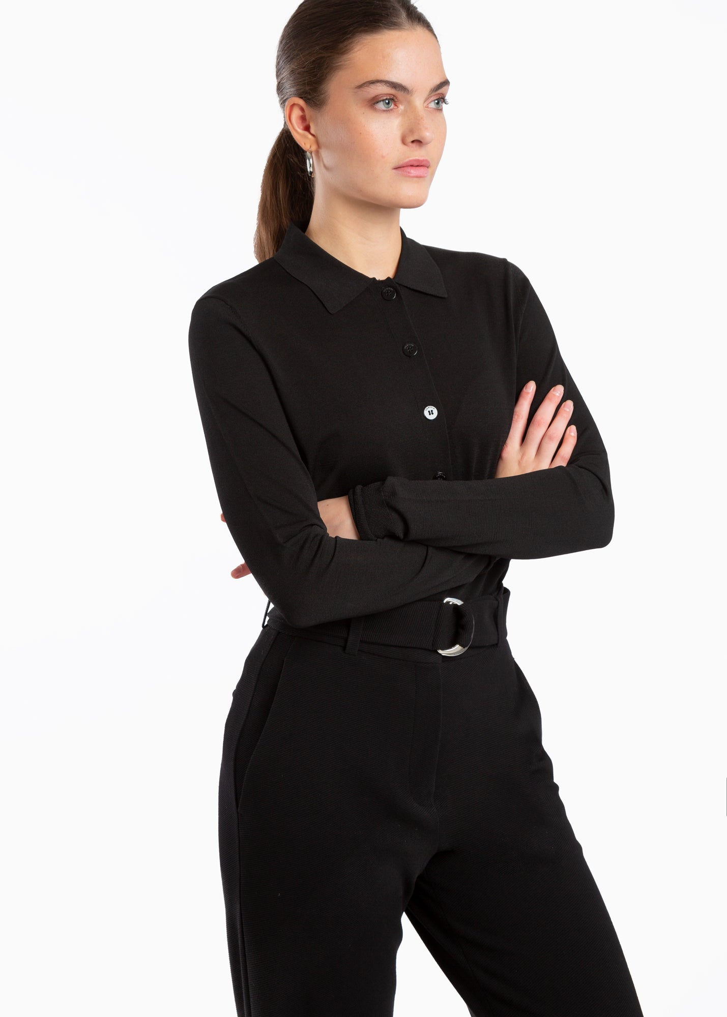 Luxe viscose polo
