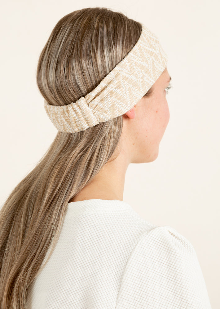 Tricot haarband