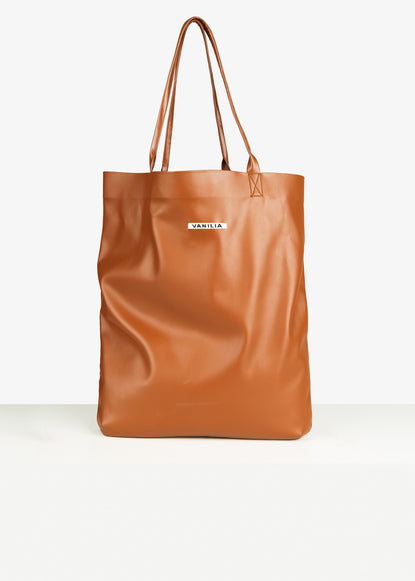Tote-bag in faux leather