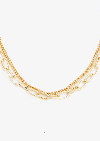 Club Manhattan Double chain ketting