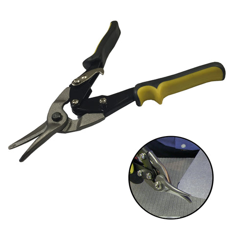 Aviation Tin Snips 10 Inch  Straight Cut Metal Shears<br><br>