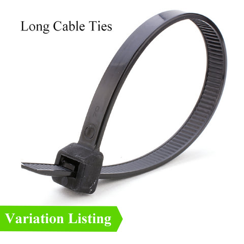10 x Extra Long Heavy Duty Cable Ties<br>Menu Options