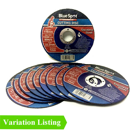Thin Metal Stainless Steel Cutting Grinder Discs <br>115 x 1 x 22.2mm