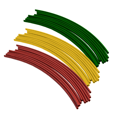 30 x Mixed Heat Shrink<br>300mm Electrical Wire Tubing