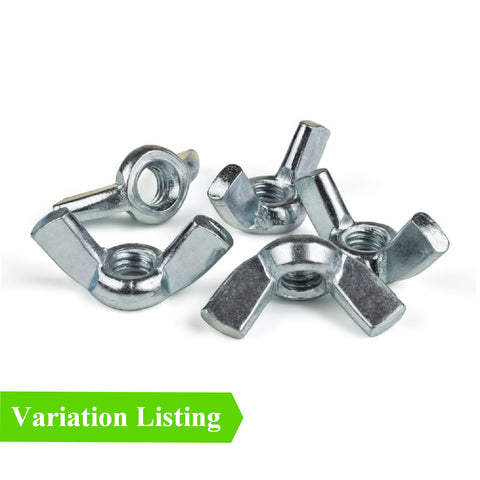 Butterfly Wing Nuts for Metric Set Screw Bolts<br>Menu Options