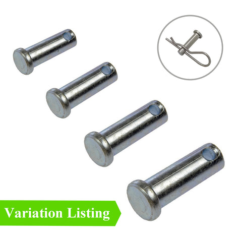 Metric Clevis Pins <br> Fasteners <br> Menu Options<br>