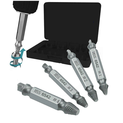 Damaged Screw Extractor, Remover Drill Bits <br><br>