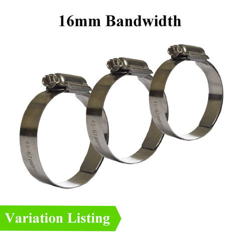 High Tension Tri-Torque Stainless Steel Hose Clamps. Menu Options