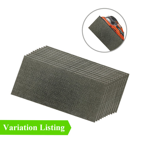 Hook and Loop 1/3 Mesh Sanding Sheets 93 x 190mm<br>Menu Options