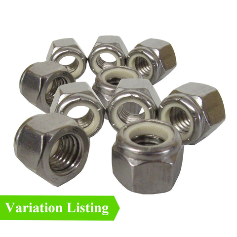 Imperial Nylon Insert Steel Locking Nuts<br><br>
