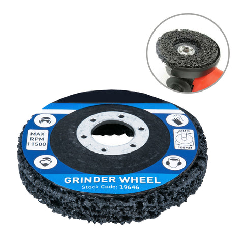 Paint & Rust Removers for 4 Inch Angle Grinders<br><br>