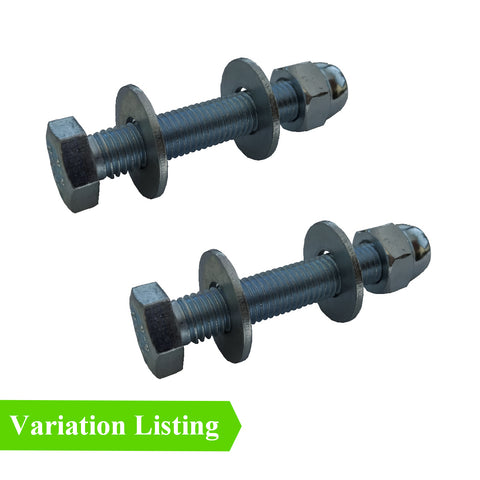 Set Screw Bolts M5 - M6 with Washers & Dome Nuts<br>Menu Options