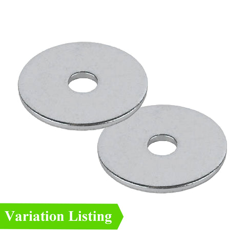 Steel Backing Washers for 6.4mm Blind Pop Rivets <br>Size: M6 x 19mm
