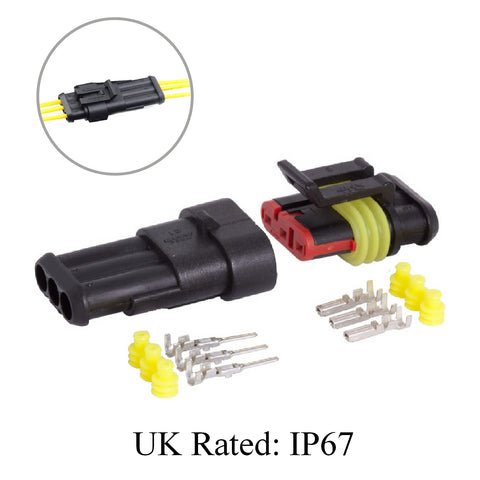 Waterproof Electrical Superseal Connectors Superseal UK Rating: IP67
