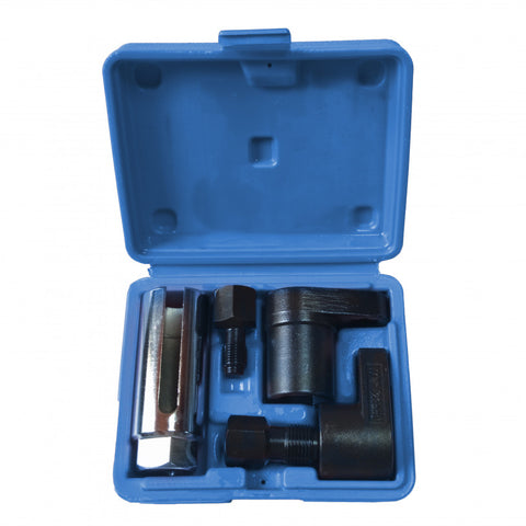 5 PCE Heavy Duty Alloy Steel Oxygen Sensor & Thread Chaser Set, Includes Robust Carrying Case