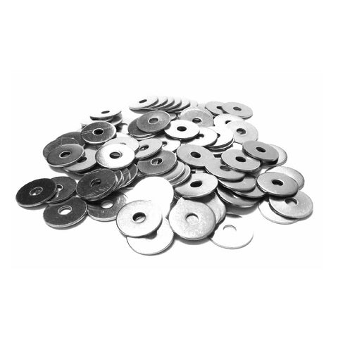 Imperial Steel Penny Repair Washers Bright Zinc Plated <br>Menu Options