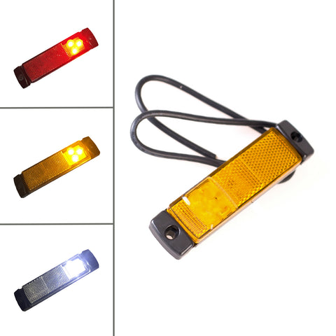 Marker Lights and Reflector 12/24v for HGV Trucks & Lorrys