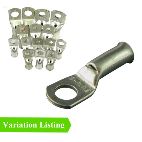 Battery Lug Copper Terminals Crimp & Solder. <br>Sizes: 70 - 120mm²