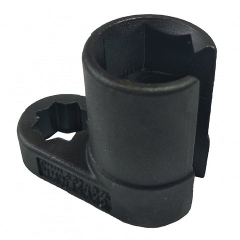 Heavy Duty Alloy Steel Offset Oxygen Sensor Socket