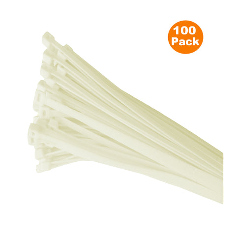 100 x Coloured Nylon Cable Ties 300 x 4.8mm<br>Menu Options