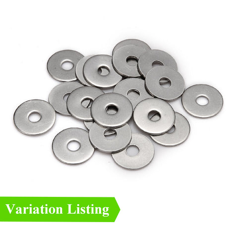 Steel Metric Penny Repair Washers Bright Zinc Plated <br>Menu Options