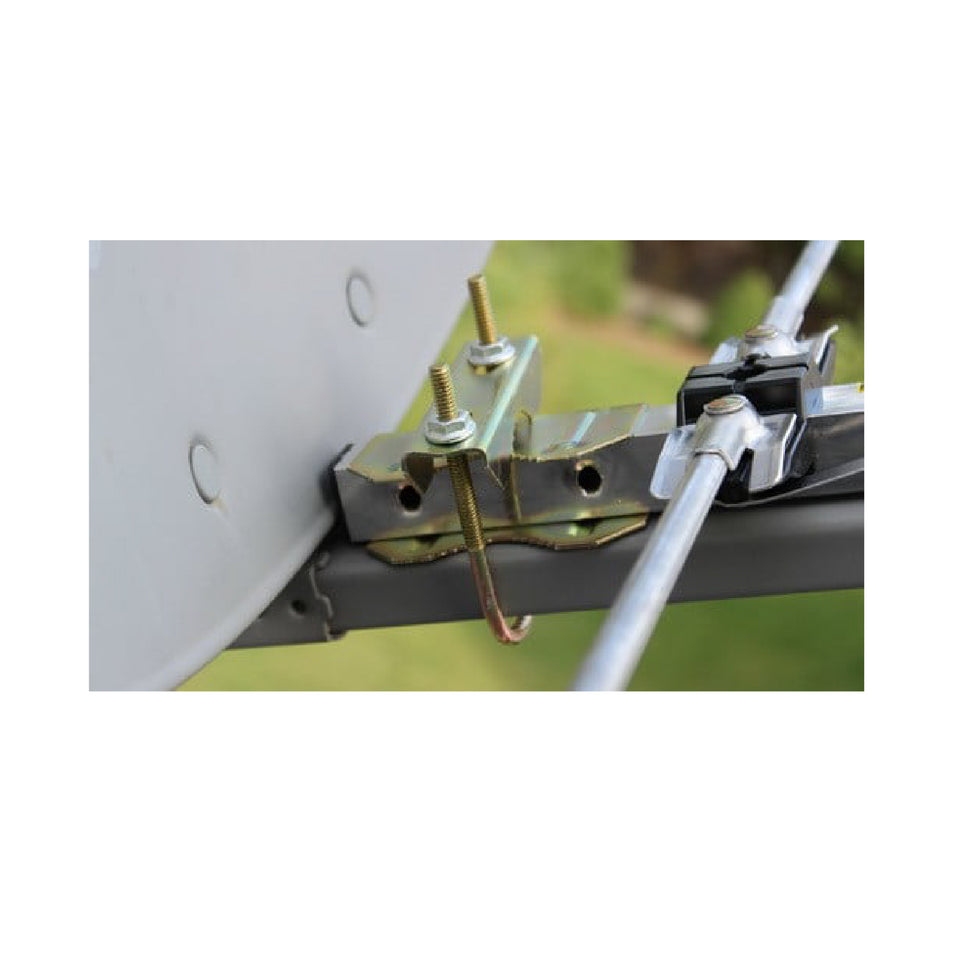 95mm 10 x Universal U Bolt Clamps//Heavy Duty Exhaust Clamp//TV Sky Aerial Pipe