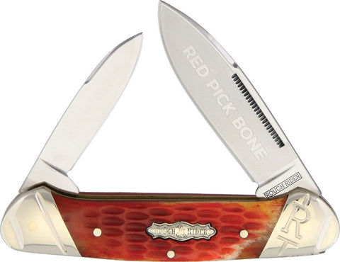 Rough Rider Canoe Red Picked Bone - Oakedge Knives