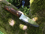 Oakedge Lichfield Mk II Tigerwood Burl - Oakedge Knives