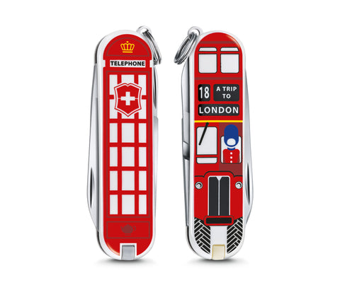 Victorinox Classic Limited Edition 2018 A Trip to London FREE LANYARD - Oakedge Knives