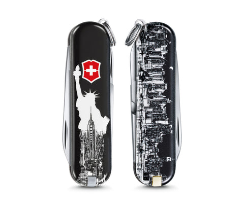 Victorinox Classic Limited Edition 2018 New York FREE LANYARD - Oakedge Knives