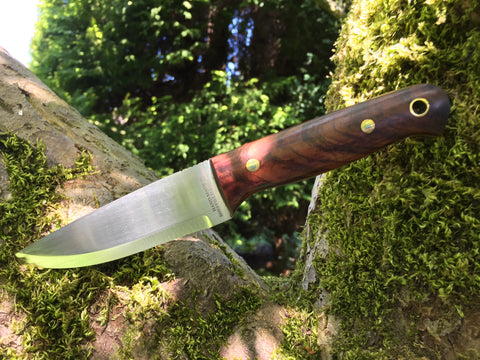 * NEW * Oakedge Lichfield Mk II Tigerwood Burl - Oakedge Knives