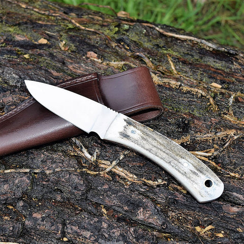 "*FINAL CLEARANCE* Oakedge 4"" Bushcraft Stag - Oakedge Knives"