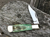Oakedge Classic Range #27 Jigged Bone Double Bolster - Oakedge Knives