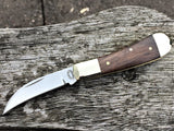 Oakedge Classic Range #25 English Walnut Double Bolster - Oakedge Knives