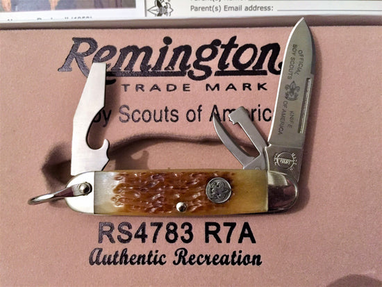 Remington Boy Scouts of America (2012) - Oakedge Knives