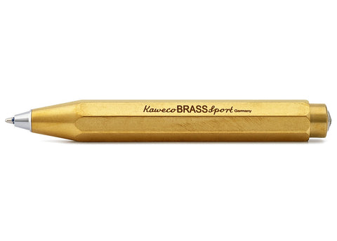 Kaweco Brass Sport Ballpoint Pen - Oakedge Knives