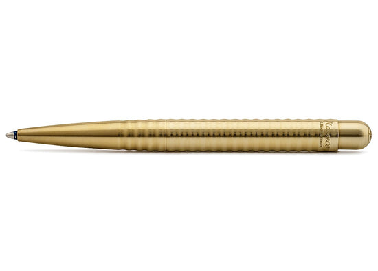 Kaweco Liliput Brass Wave Ballpoint Pen - Oakedge Knives