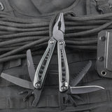 * SPECIAL OFFER * Black Multi Tool with Belt Pouch - Oakedge Knives