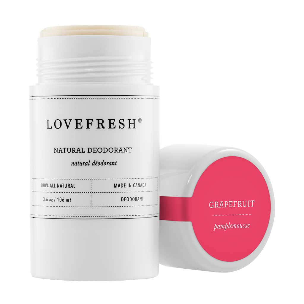 Natural Cream Deodorant, Grapefruit