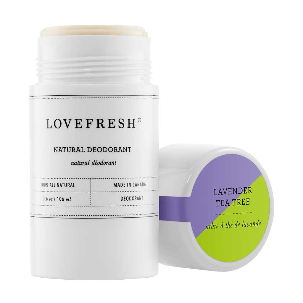 Lovefresh Natural Cream Deodorant, Lavender Tea Tree