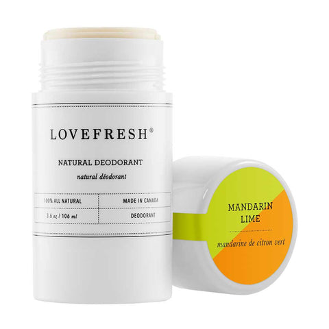 Lovefresh Natural Cream Deodorant, Mandarin Lime