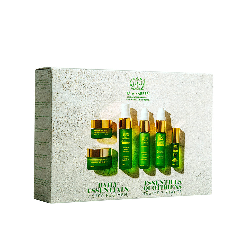 Natural Antiaging Skincare Discovery Kit Matkapakkaus