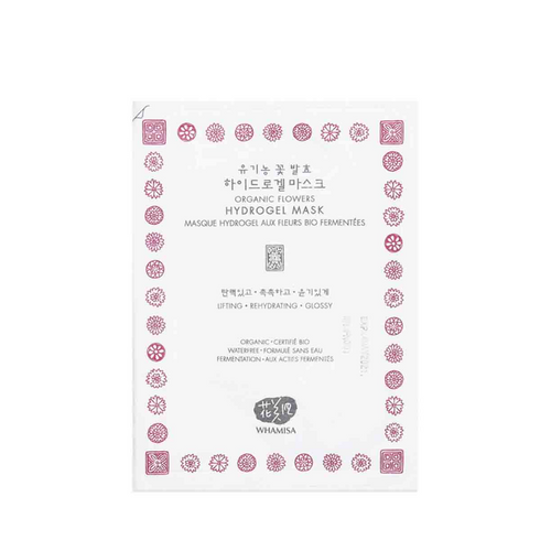 Organic Flowers Hydro Gel Sheet Mask