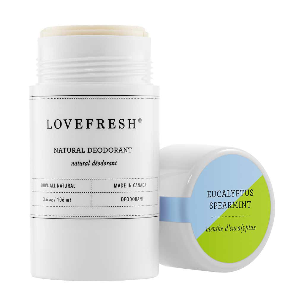 Natural Cream Deodorant, Eucalyptus/Spearmint