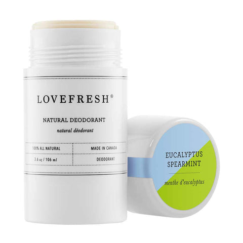 Lovefresh Natural Cream Deodorant, Eucalyptus/Spearmint