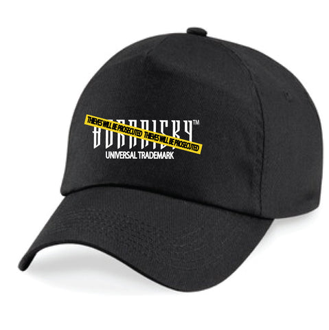 CAUTION CAP: BLACK