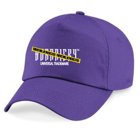 CAUTION CAP: PURPLE