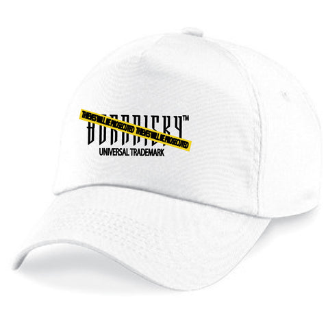 CAUTION CAP: WHITE