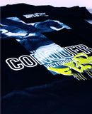 """CONQUER"" BLACK T-SHIRT: CULTURE SERIES"