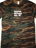 BADASS BITCHES: CAMO T-SHIRT